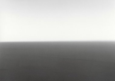 work by Hiroshi Sugimoto - Time Exposed: #321 Mediterranean Sea Cassis, 1989