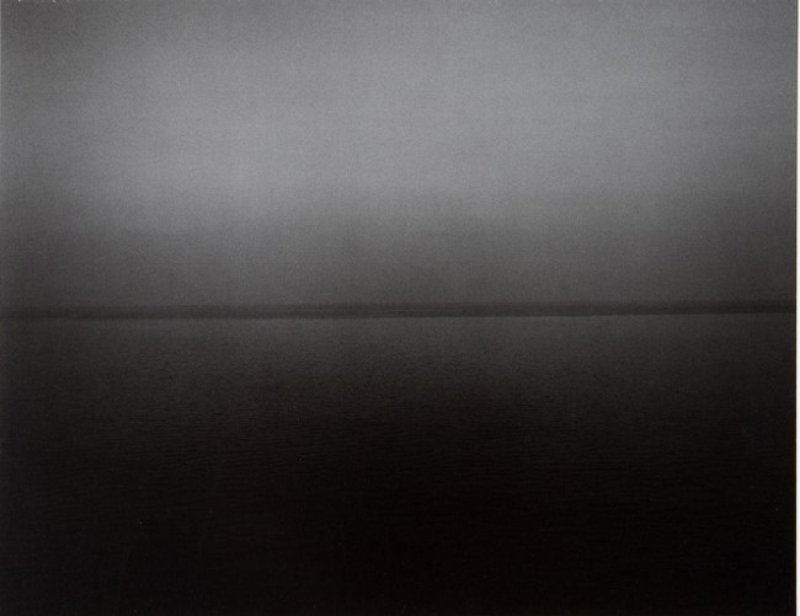 main work - Hiroshi Sugimoto, Time Exposed: #354 Miltoan Sea Sounion 1990