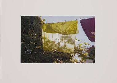 work by Hope Dickens - Clothesline
