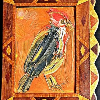 Untitled Red Robin art for sale