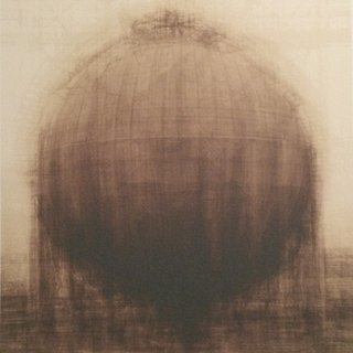 Idris Khan - Every... Bernd and Hilla Becher Spherical Type Gasholder, Print