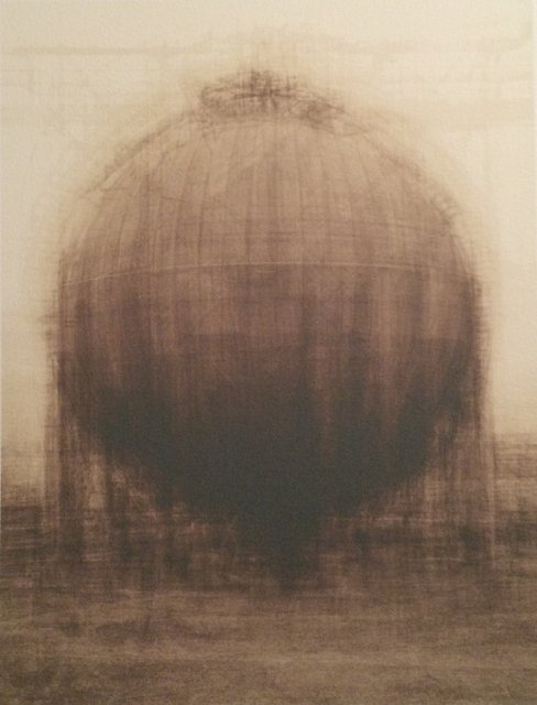 Idris Khan, Every... Bernd and Hilla Becher Spherical Type Gasholder