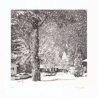Snowy Night art for sale