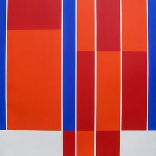 Red, Blue, White Rectangles art for sale