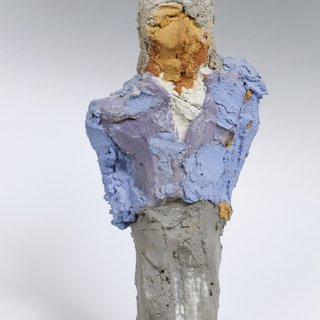 Man With Blue Coat art for sale
