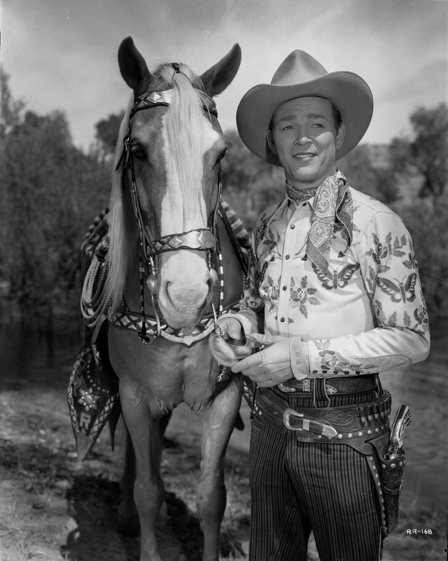 cba85f75485 Jack Freulich - Roy Rogers Posed with His Horse for Sale