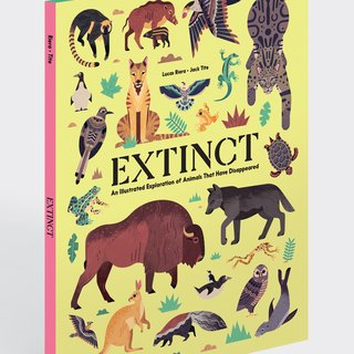 Extinct -  An Illustrated Exploration of Animals That Have Disappeared art for sale