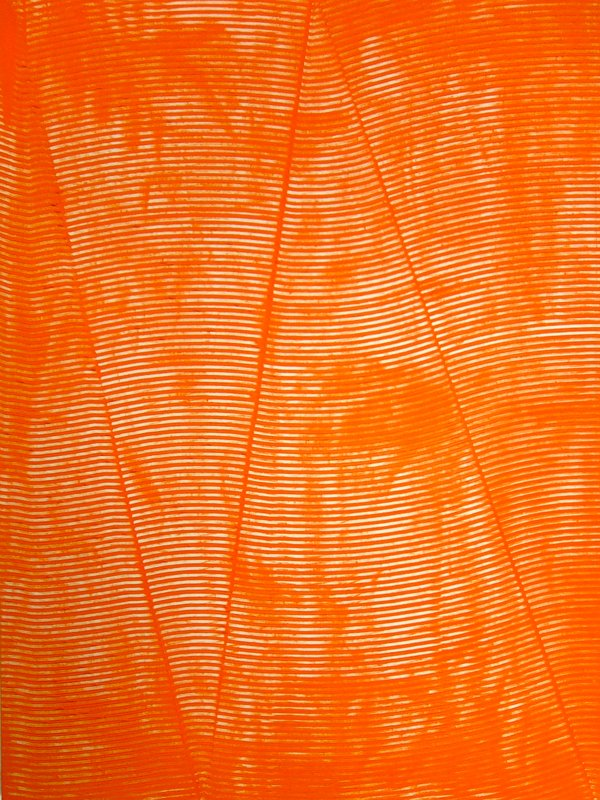 main work - James Collins, Untitled (Orange 36x48)