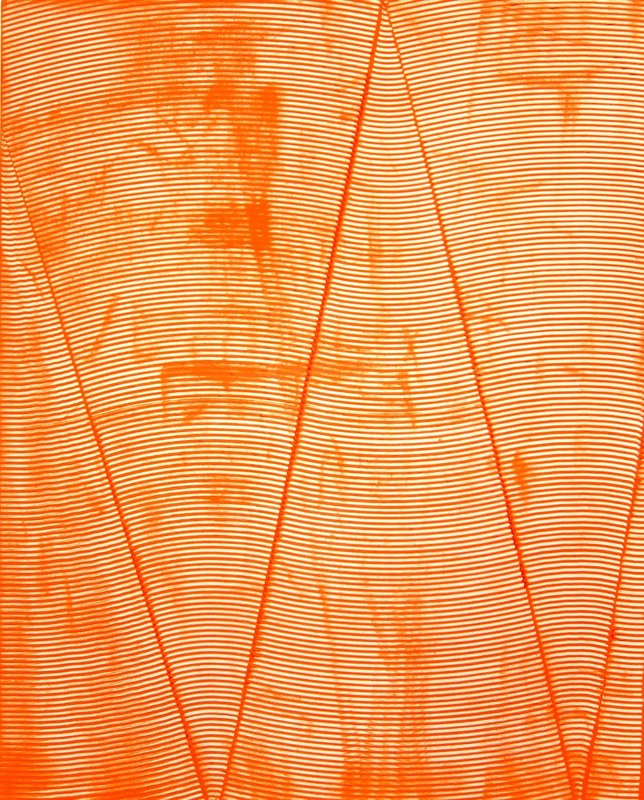 James Collins, Untitled Orange