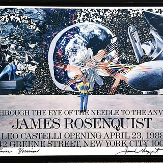 Through the Eye of the Needle to the Anvil, Rosenquist at Leo Castelli art for sale