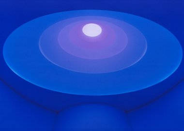 work by James Turrell - Aten Reign