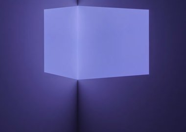 work by James Turrell - Catso Violet