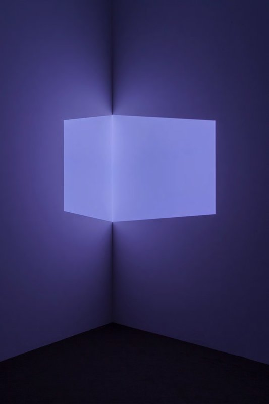 main work - James Turrell, Catso Violet