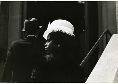work by Jan Yoors - Untitled (Wedding in Harlem - Hat)