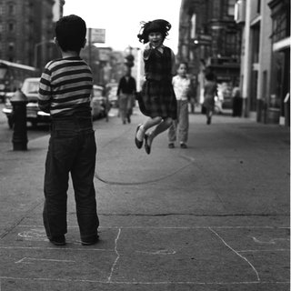 Jan Yoors, Untitled (Girl Jumping Rope on 14th Street)