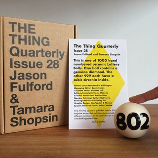 Issue 28: Ceramic Lottery Ball art for sale