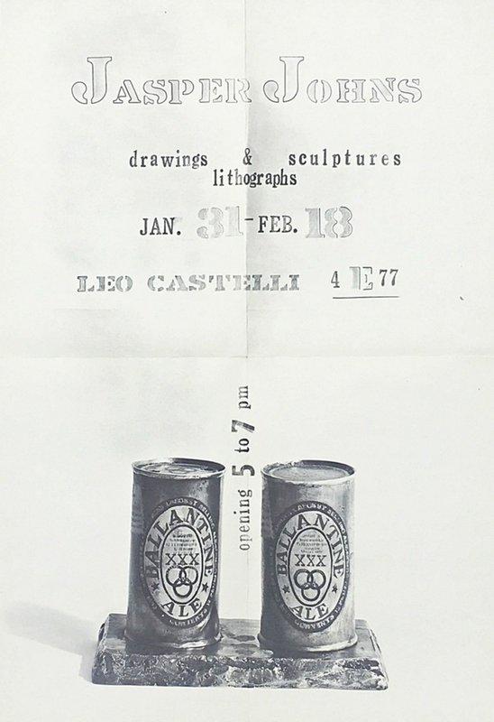 Jasper Johns - Rare Vintage Promotional Mailer for Jasper Johns ...