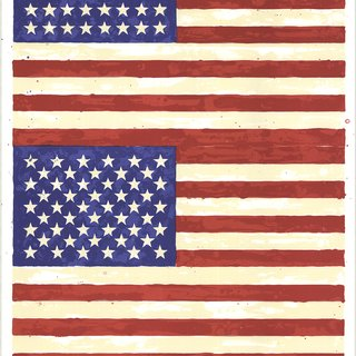 The 50th Anniversary of the Whitney Museum of American Art (Double Flag) art for sale