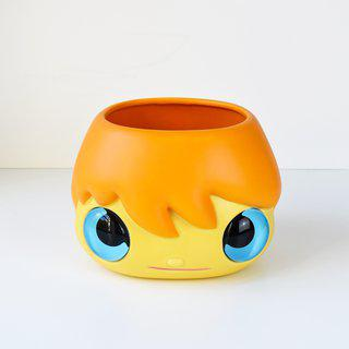 Pop Top (Planter pot | Orange) art for sale