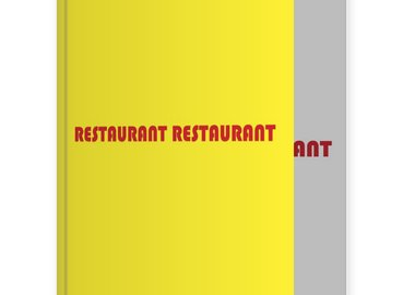 Jay Batlle - RESTAURANT - RESTAURANT (The Stationery Drawings Volume One)