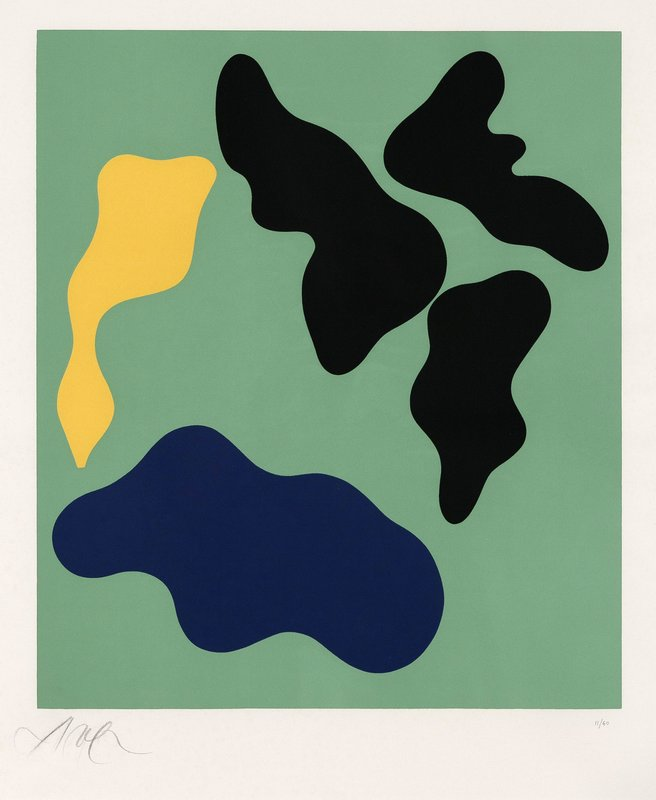 Jean Hans Arp, Composition 1 -
