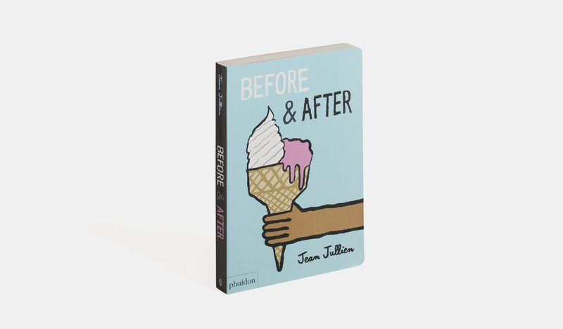 main work - Jean Jullien, Before and After
