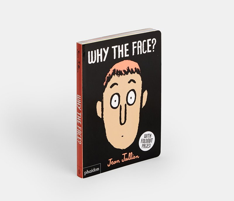 main work - Jean Jullien, Why the Face?