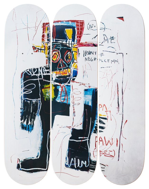 by jean_michel_basquiat - Irony of a Negro Policeman, 1981