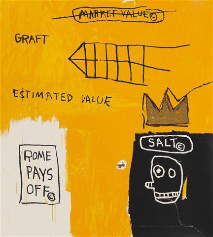 Jean-Michel Basquiat - Rome Pays Off