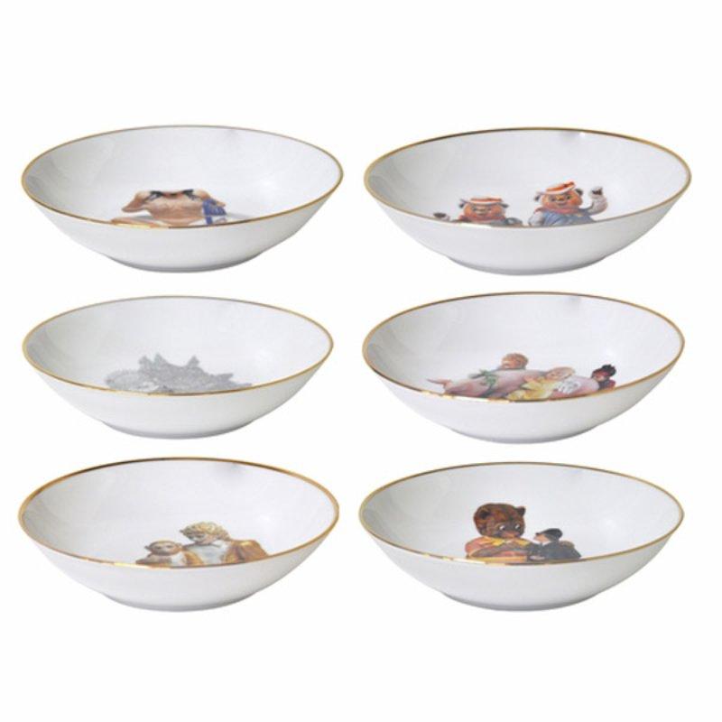 Jeff Koons Coupe dinner plate \u0026 salad plate Banality series set of 6  sc 1 st  Artspace.com & Jeff Koons - Coupe dinner plate \u0026 salad plate Banality series set ...