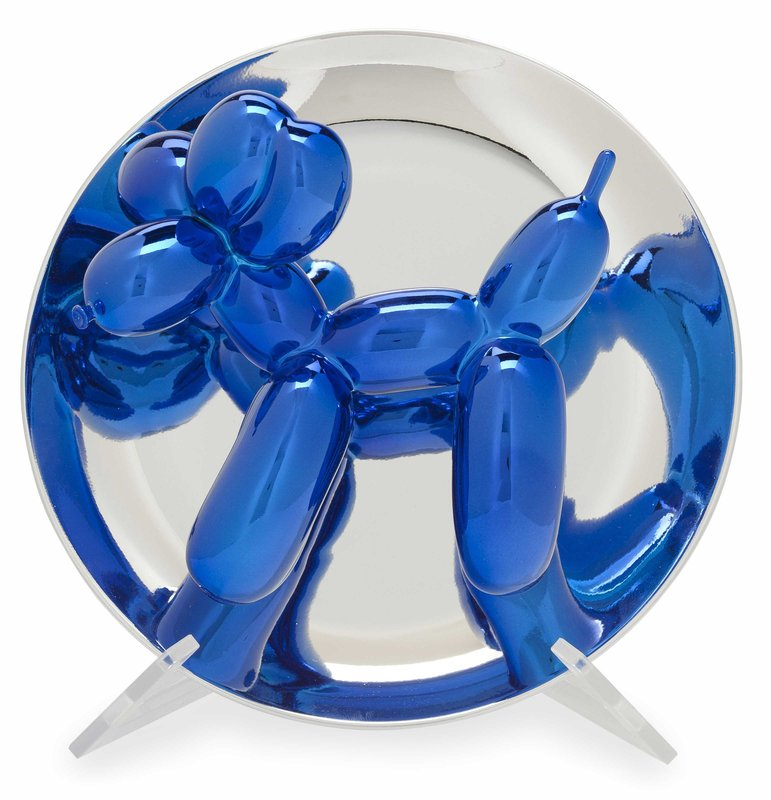 by jeff_koons - Balloon Dog (Blue)