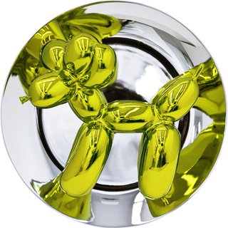 Jeff Koons Balloon Dog (Yellow) art for sale