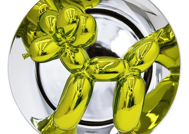Jeff Koons - Jeff Koons Balloon Dog (Yellow)