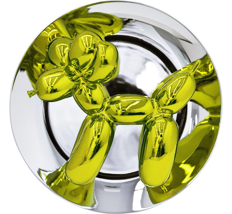 main work - Jeff Koons, Jeff Koons Balloon Dog (Yellow)