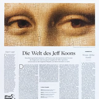 Untitled (Die Welt Newspaper – Collector's Edition) art for sale