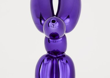 Jeff Koons - Balloon Rabbit (Violet)