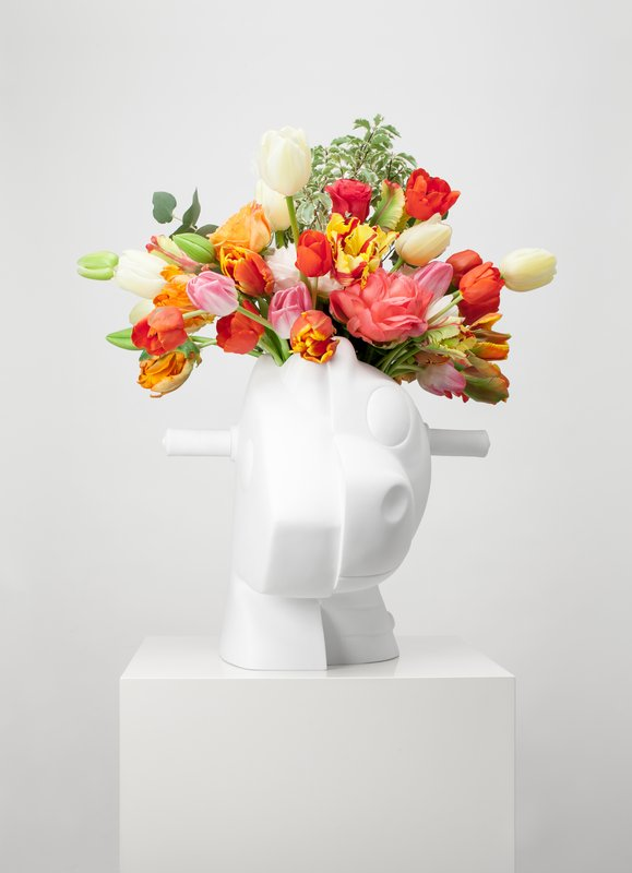 Jeff Koons Splitrocker Vase For Sale Artspace