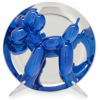 Balloon Dog (Blue) art for sale