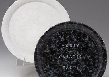 work by Jenny Holzer - Ceramic Charger