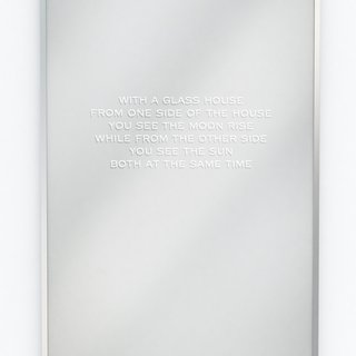 Jenny Holzer, In a Glass House