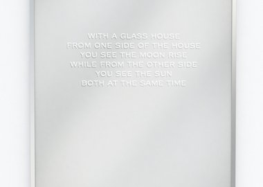 Jenny Holzer - In a Glass House