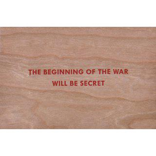 The Beginning of the War Will Be Secret art for sale