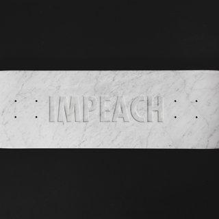 IMPEACH Marble art for sale
