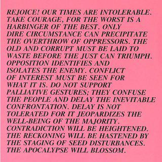 Intolerable Times, Inflammatory Essay, (Documenta 1982) art for sale