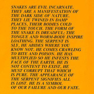 Snakes, Inflammatory Essay, (Documenta 1982) art for sale