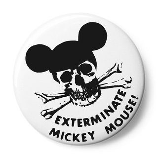 Exterminate Mickey Mouse! art for sale