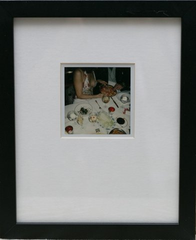 Jessica Craig-Martin - Polaroid at Mr. Chows