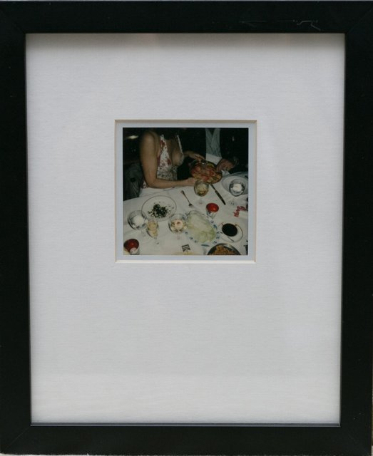 Jessica Craig-Martin, Polaroid at Mr. Chows