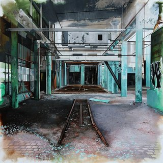 Derelict I art for sale