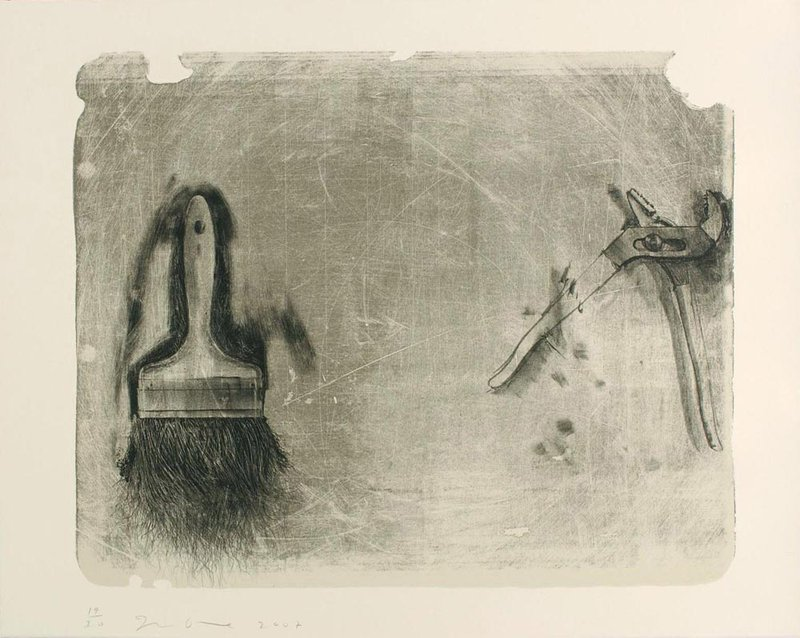 Jim Dine - Tools for Creeley II for Sale | Artspace